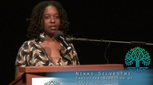 Nikki Silvestri- Climate Justice
